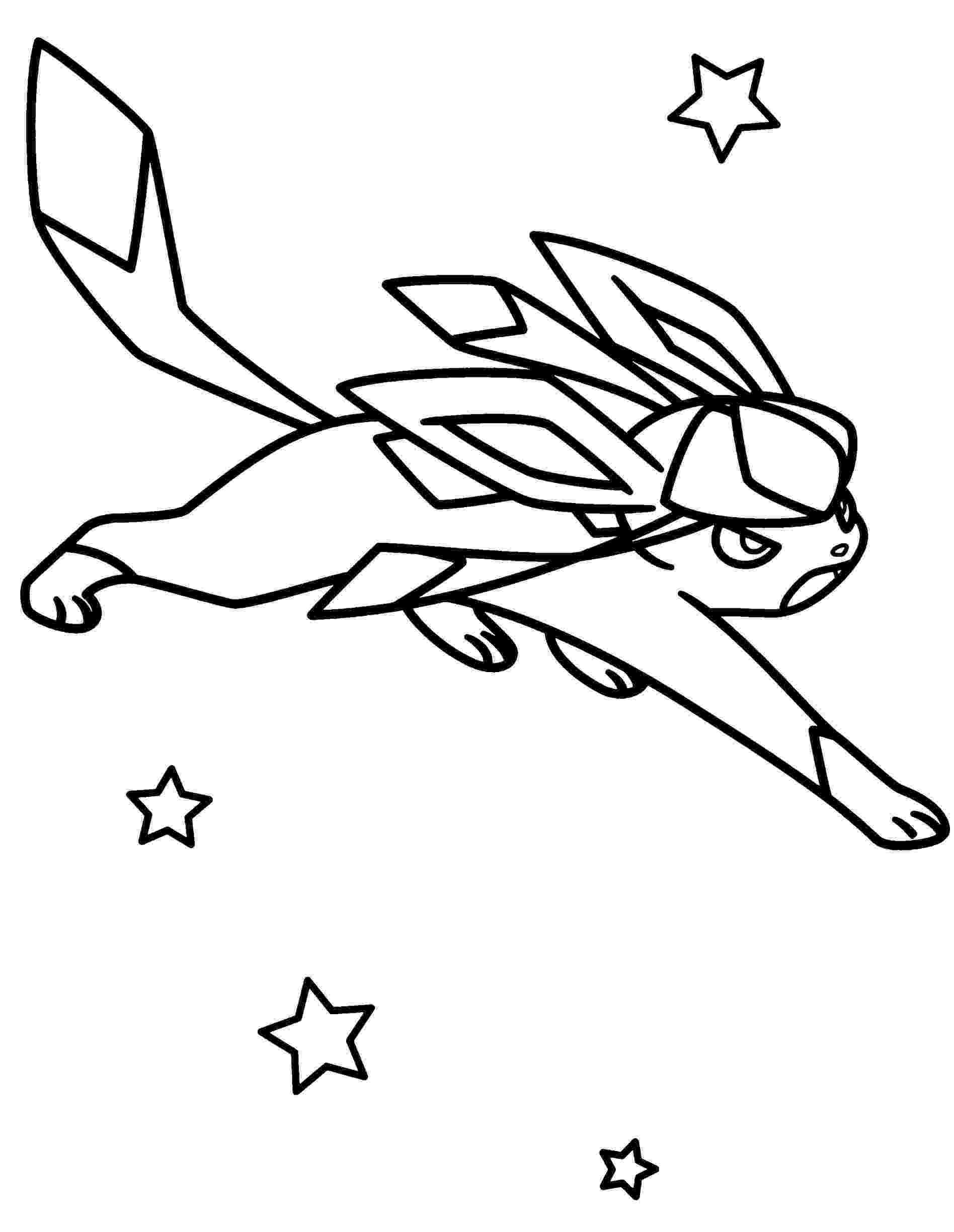pokemon coloring pages eevee evolutions glaceon pokemon coloring pages eevee evolutions at getdrawings evolutions pages pokemon coloring glaceon eevee