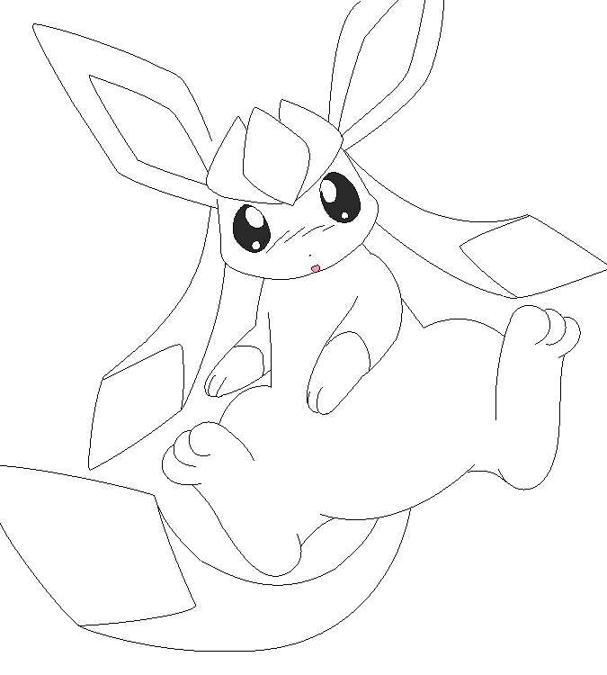 pokemon coloring pages eevee evolutions glaceon the best free eevee coloring page images download from glaceon pokemon pages coloring evolutions eevee