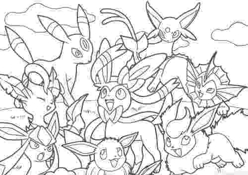 pokemon coloring pages eevee evolutions pikachu and eevee friends coloring book coloring pages evolutions eevee coloring pokemon
