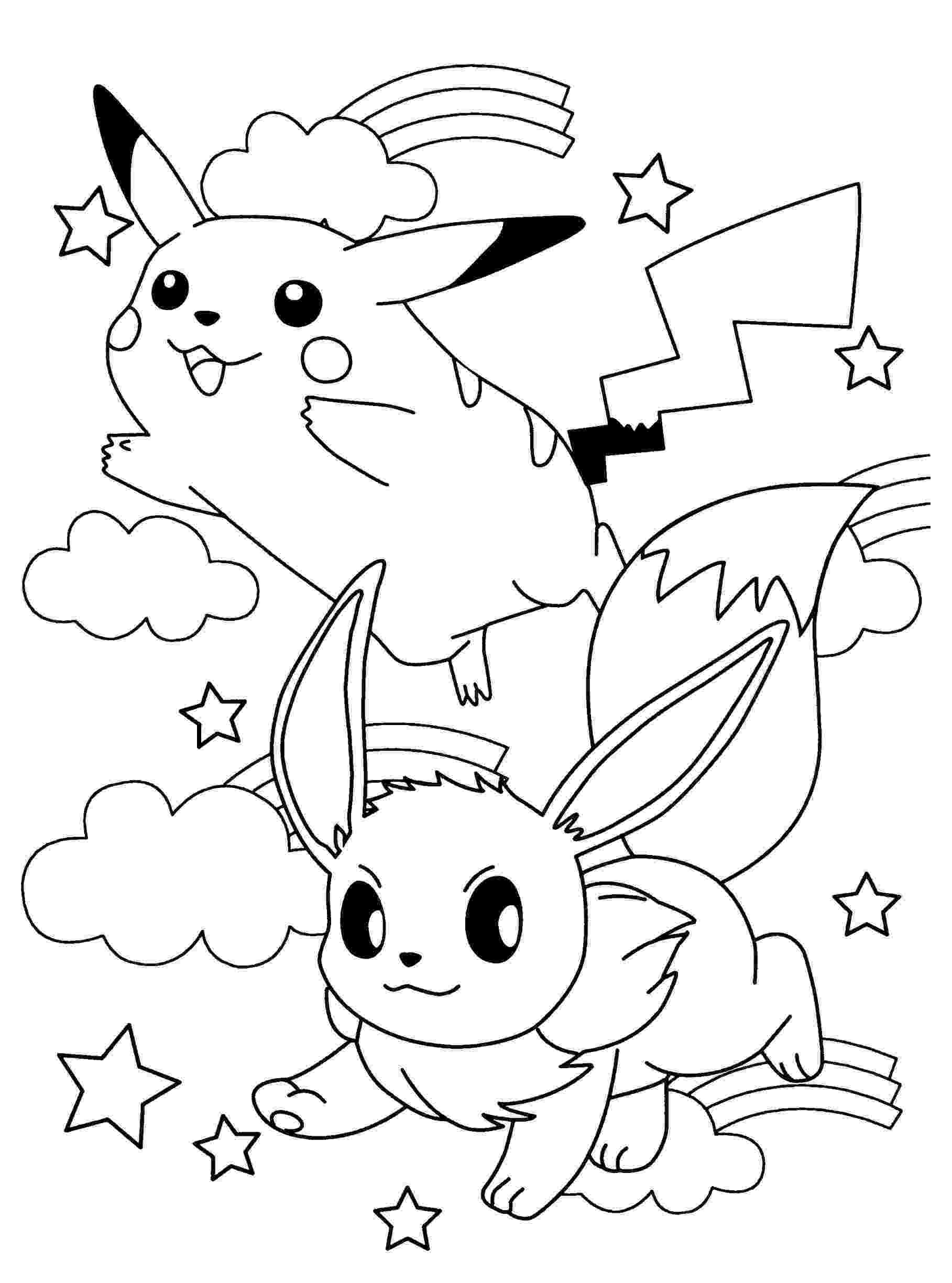 pokemon coloring pages eevee evolutions pokemon coloring pages eevee evolutions coloring home coloring pokemon eevee evolutions pages
