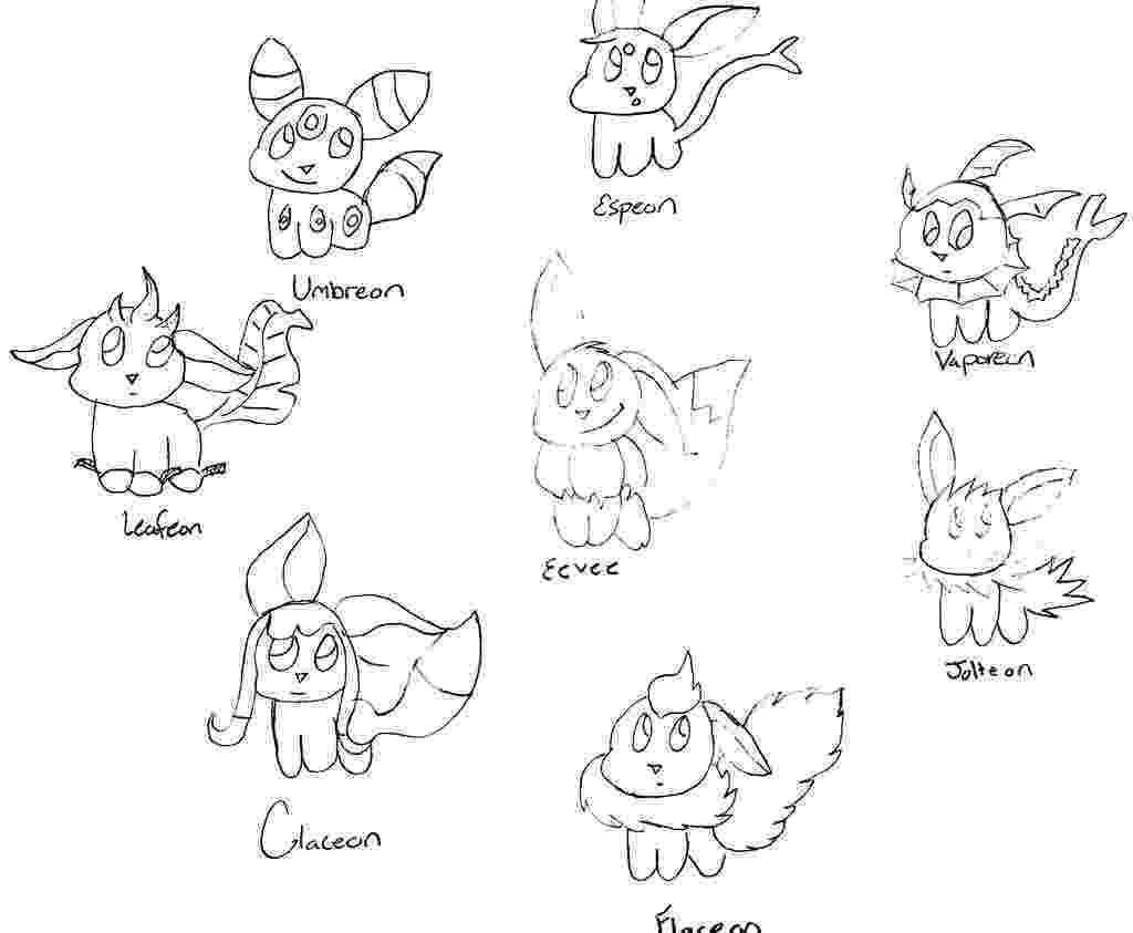 pokemon coloring pages eevee evolutions pokemon eevee evolutions coloring pages sketch coloring page eevee pages pokemon evolutions coloring