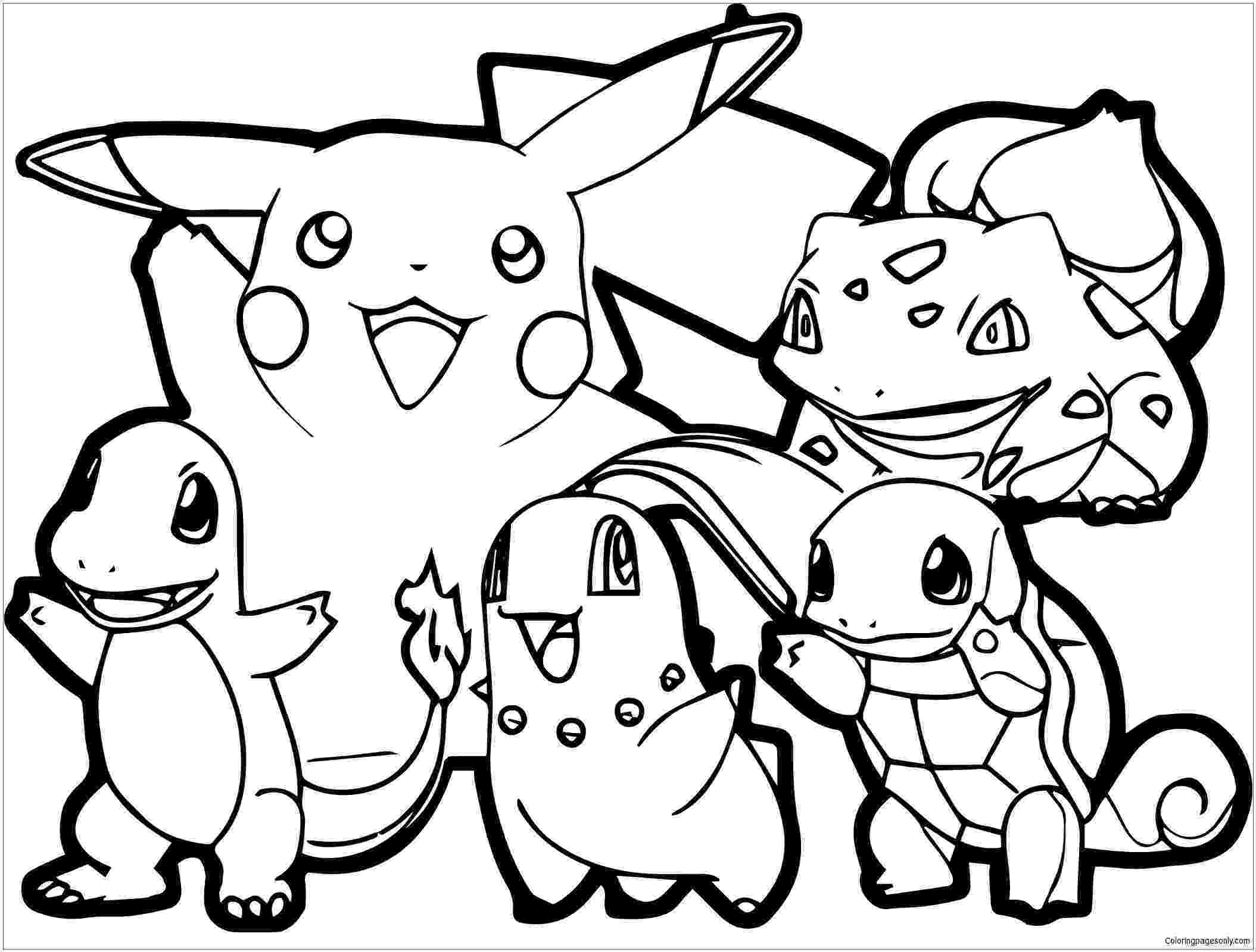 pokemon colouring pages online free pokemon coloring pages join your favorite pokemon on an colouring pages online free pokemon