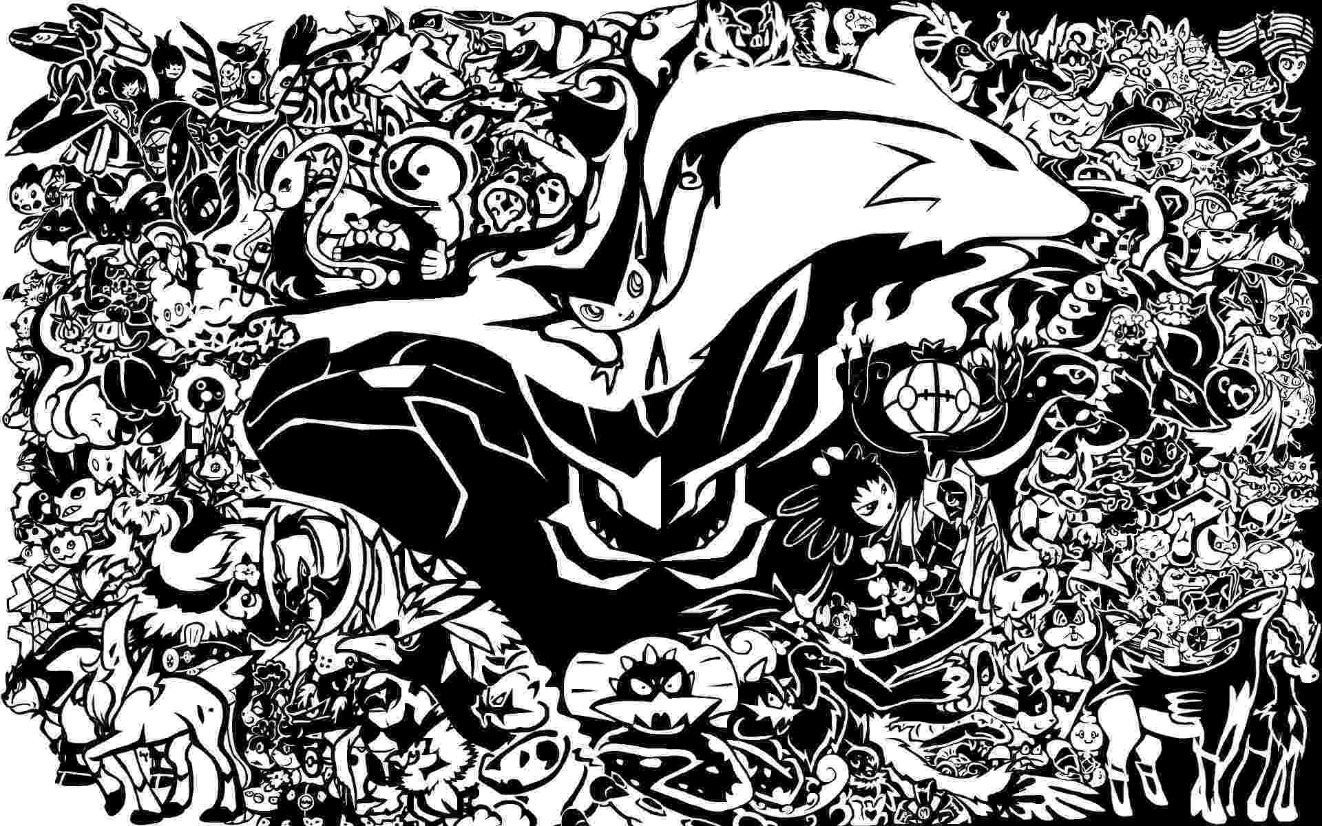 pokemon pictures from black and white hd pokemon black and white backgrounds pixelstalknet and white pokemon pictures black from