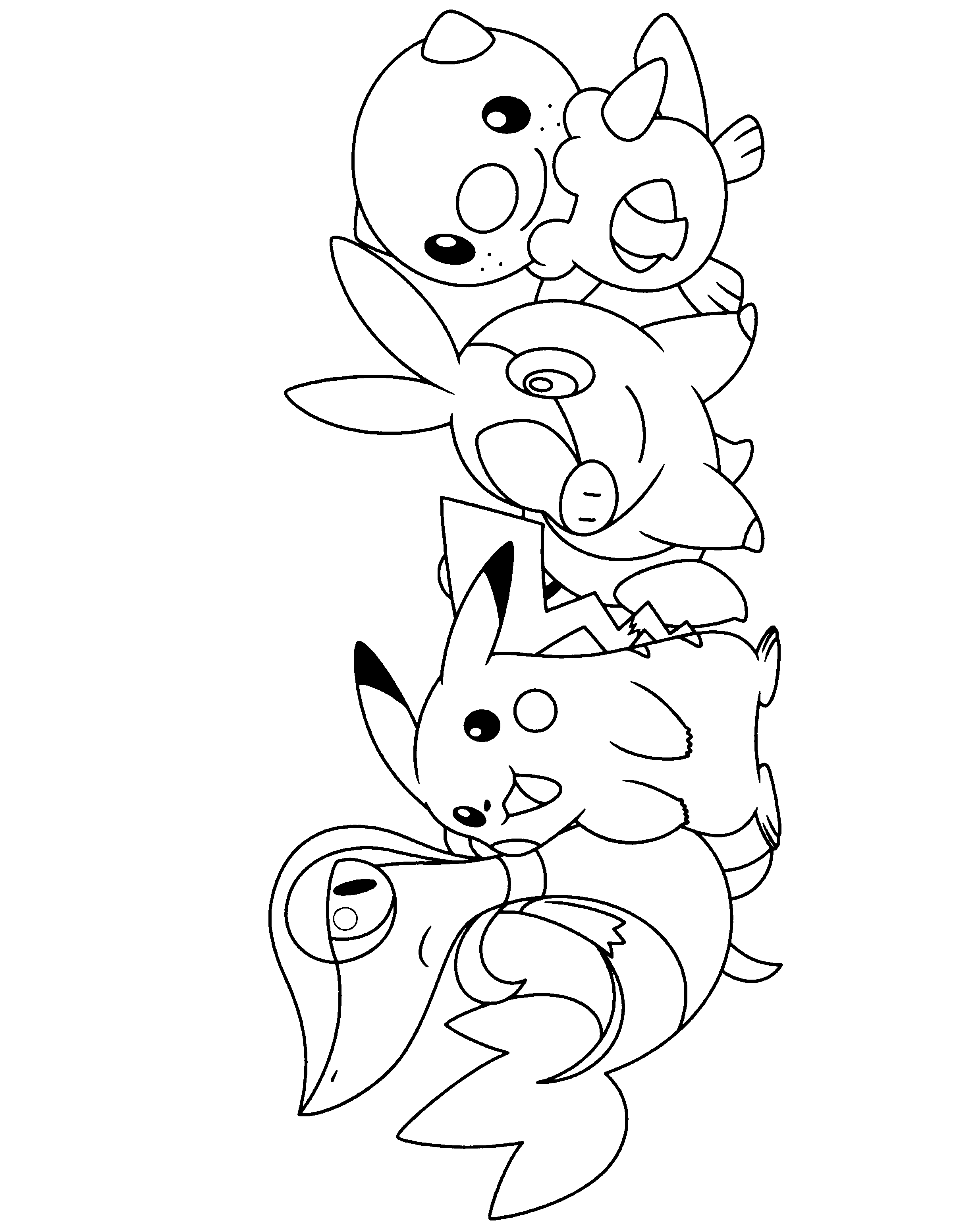 pokemon pictures from black and white pokemon black and white coloring pages google search black and from white pictures pokemon