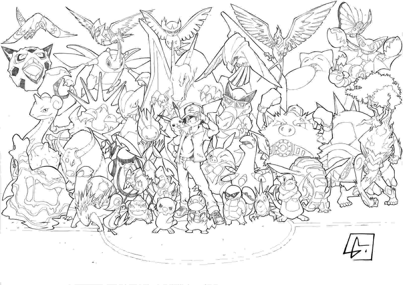 pokemon pitchers all pokemon coloring pages download and print for free pitchers pokemon