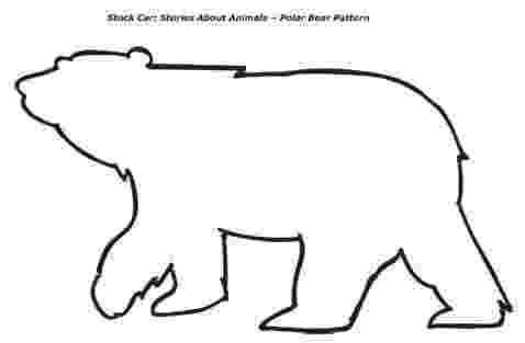 polar bear template 300 crafts for kids fuzzy polar bear template polar template bear polar