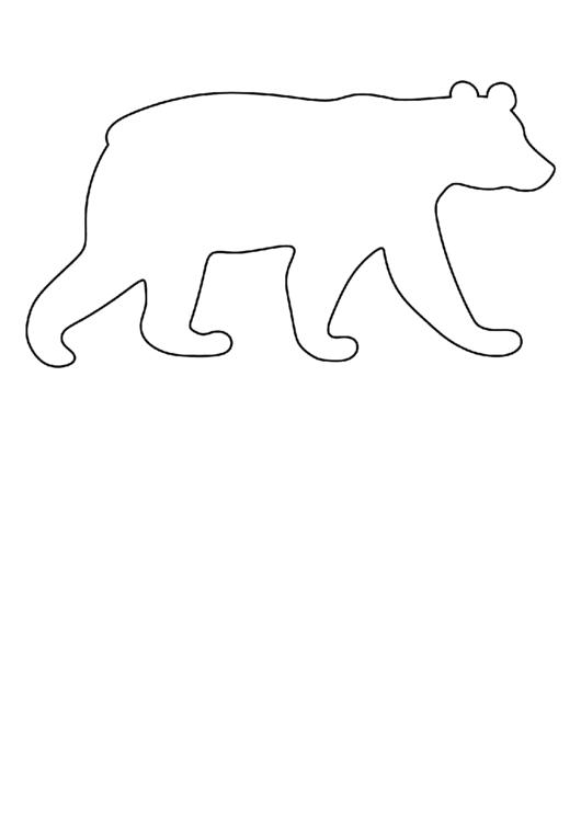 polar bear template 4 legged animals templates icesculptingtoolscom template bear polar