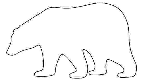 polar bear template polar bear free printable templates coloring pages template polar bear