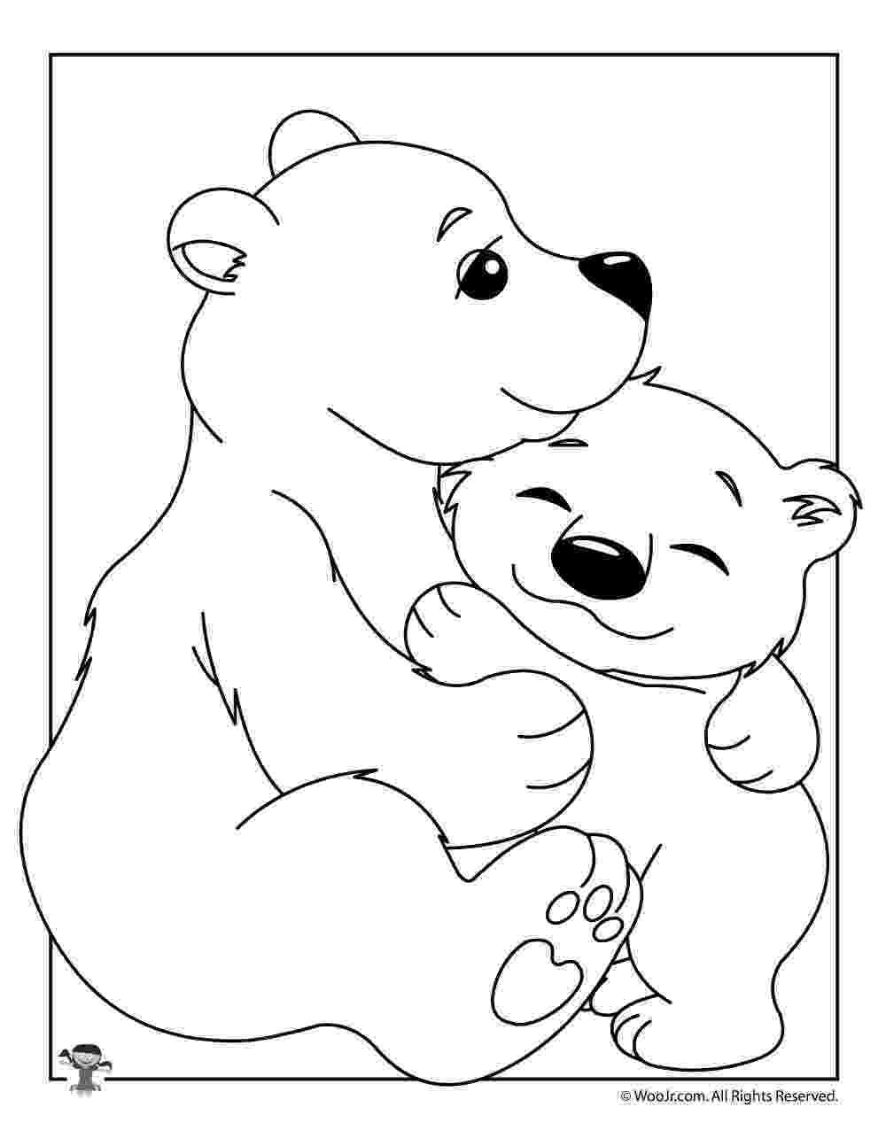 polar bear to color endangered polar bear bear coloring pages polar bear to polar bear color