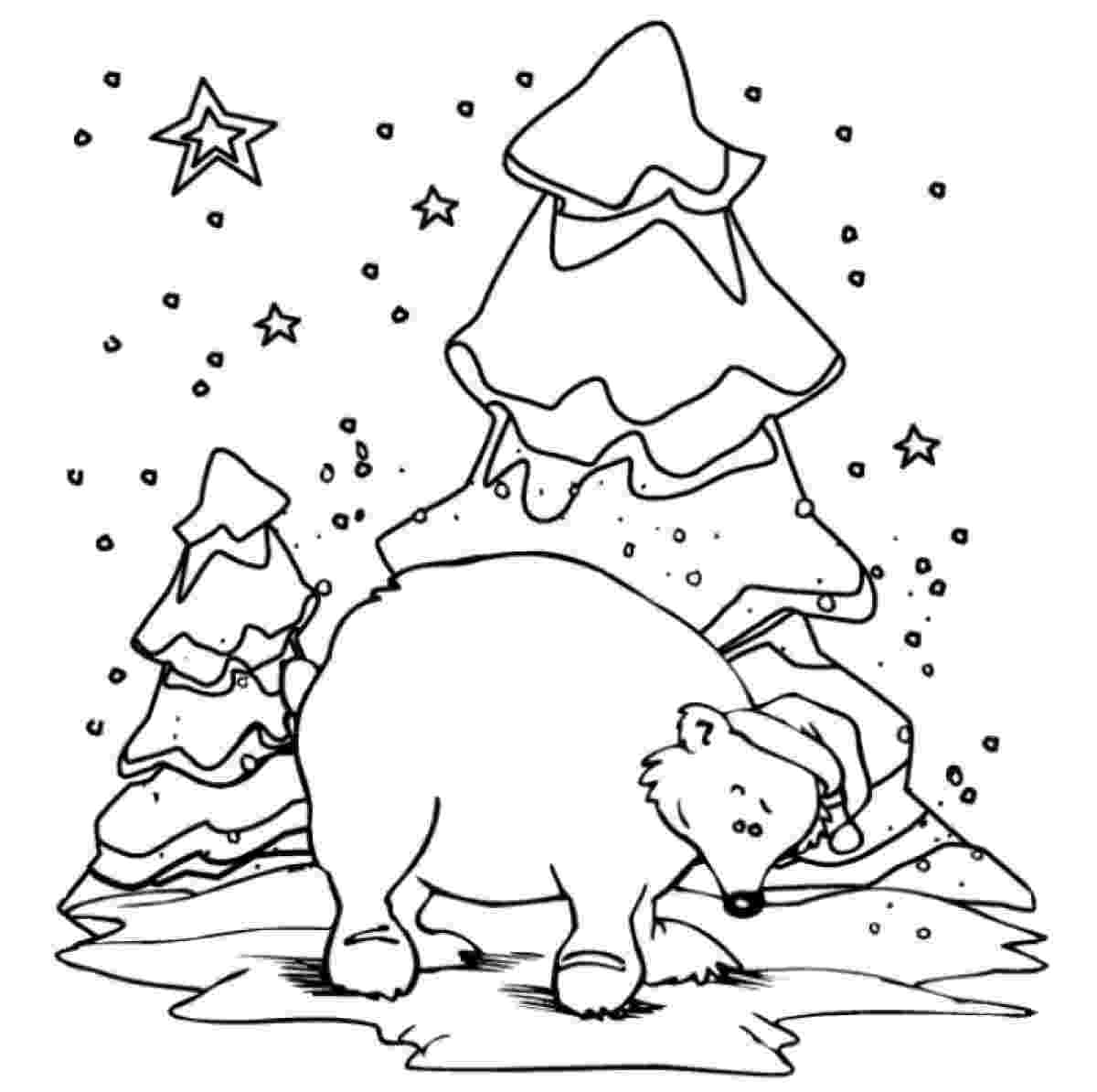 polar bear to color polar bear coloring pages to download and print for free polar color to bear