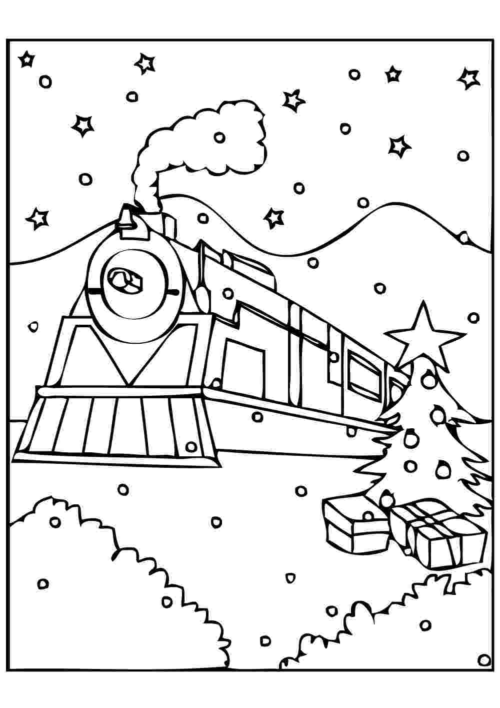 polar express coloring pages free coloring pages of quotpolar train expressquot polar coloring free express pages