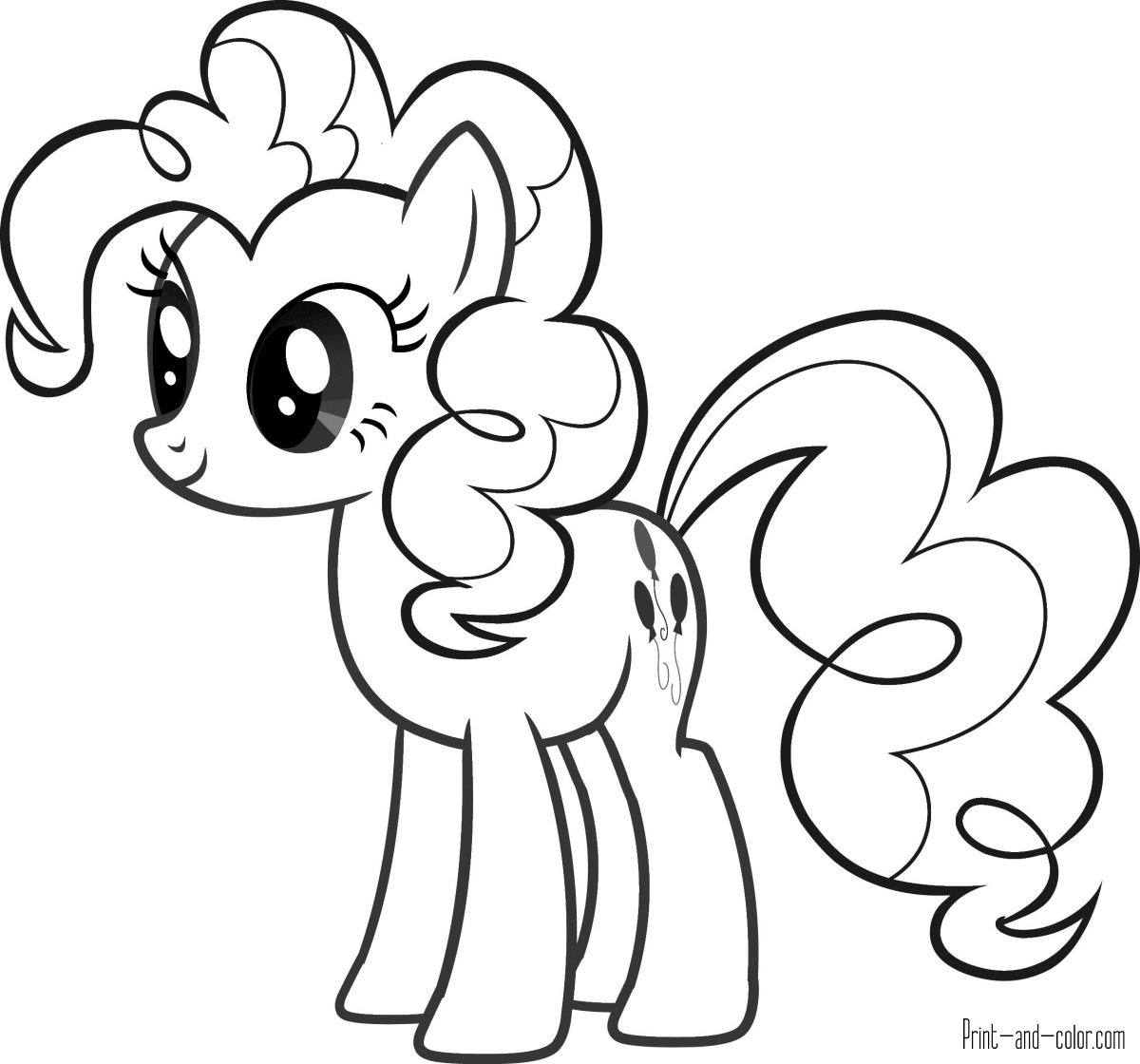 pony picture to color free printable my little pony coloring pages for kids color to pony picture
