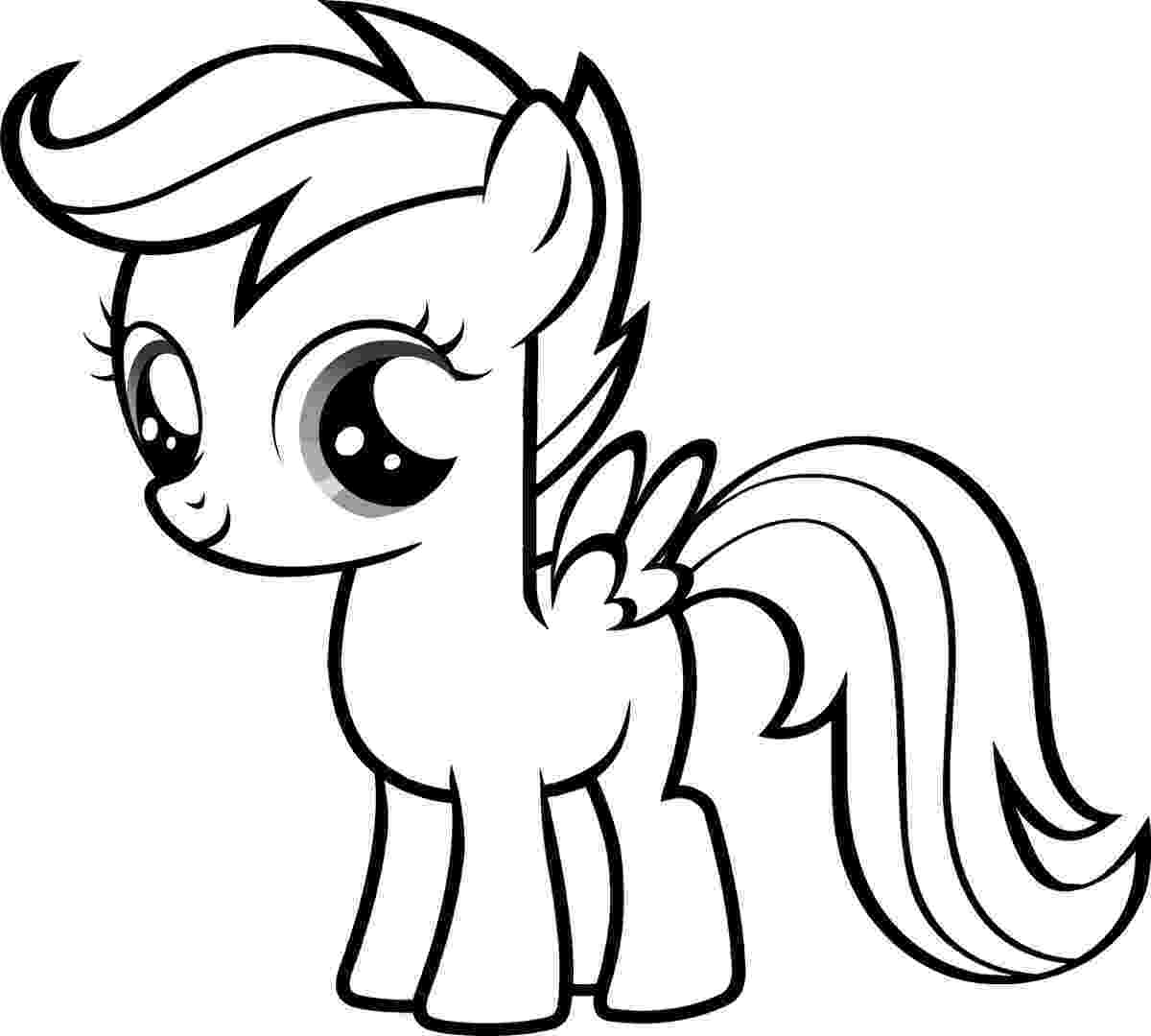 pony picture to color free printable my little pony coloring pages for kids to color picture pony