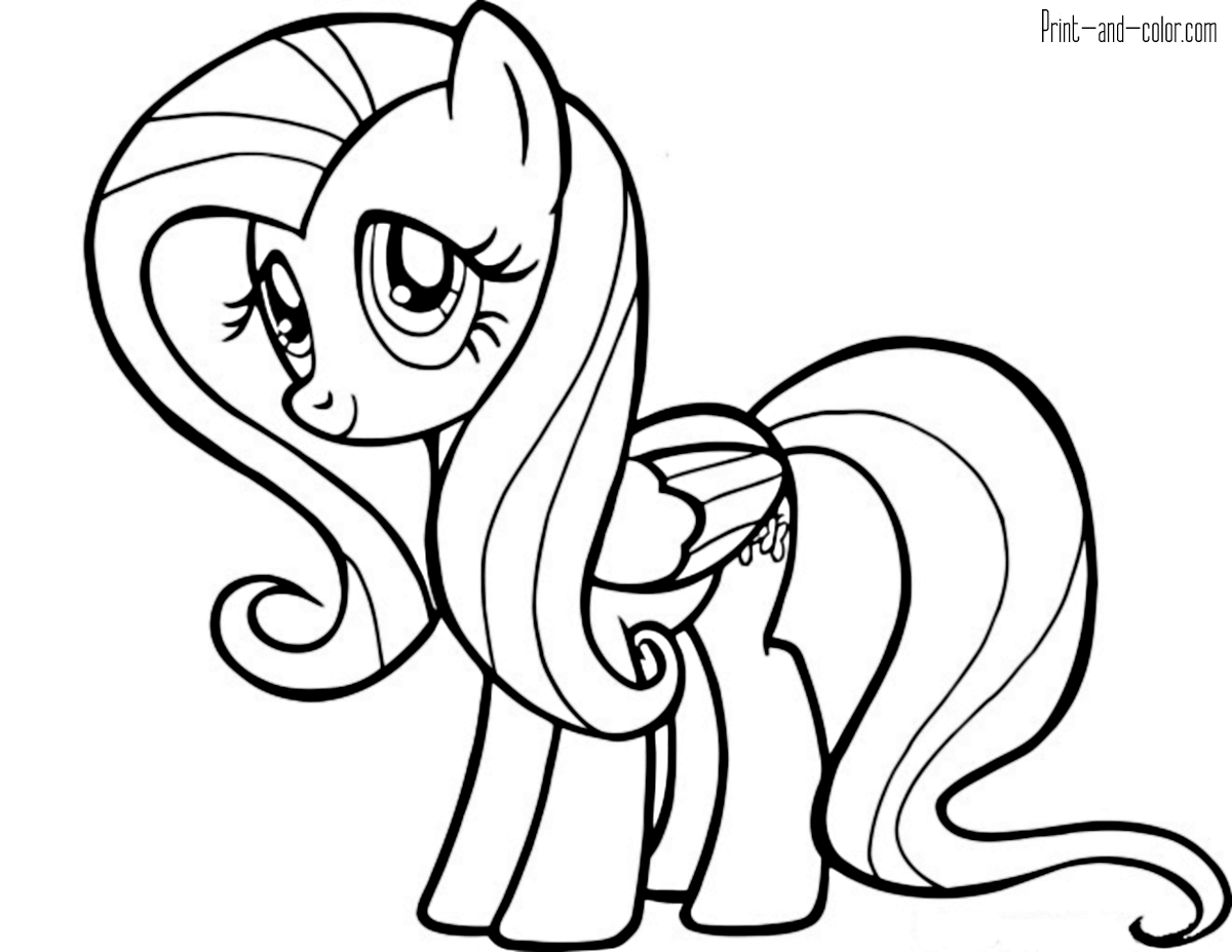 pony picture to color my little pony coloring pages print and colorcom color pony to picture