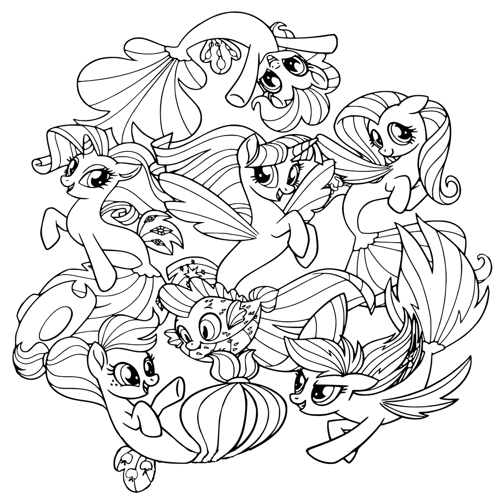 pony pictures to colour free printable my little pony coloring pages for kids colour pony pictures to