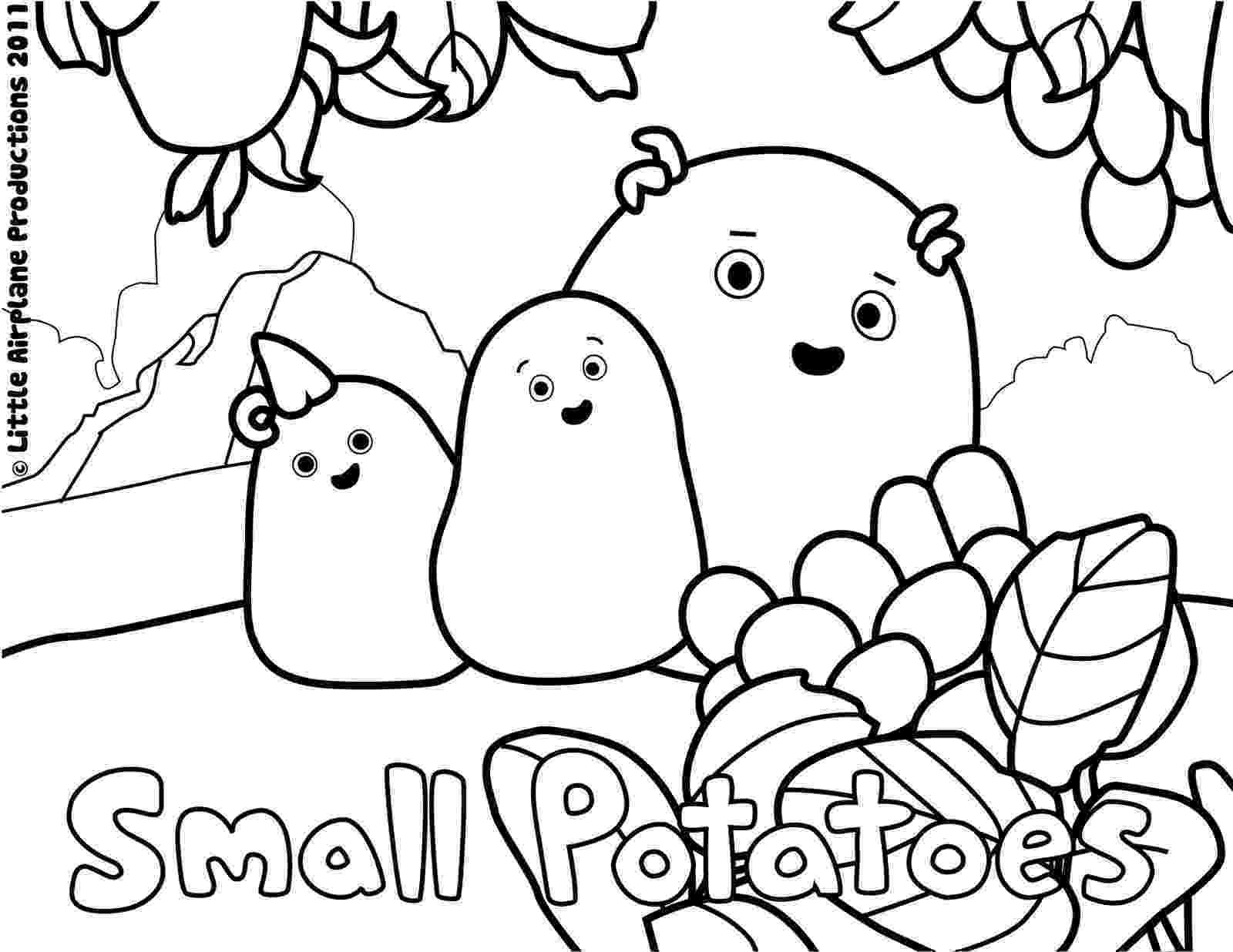 potato pictures for colouring healthy potato coloring page download free healthy pictures for potato colouring