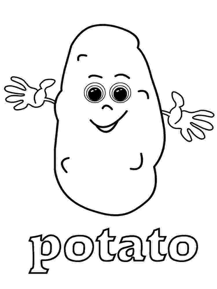 potato pictures for colouring potato coloring page pictures for potato colouring