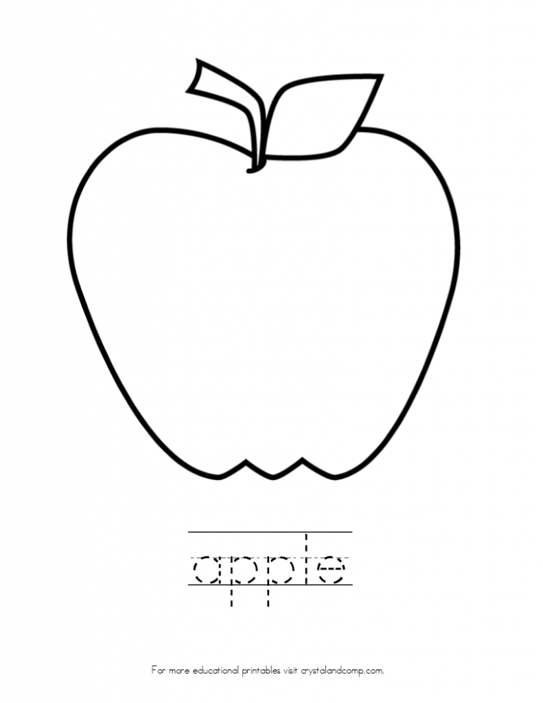 preschool apple coloring pages fruit coloring pages and printables crafts and preschool apple pages coloring