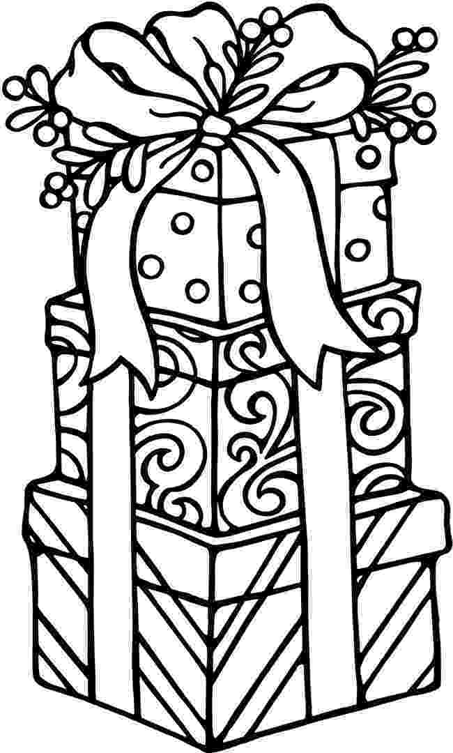 present coloring pages christmas coloring pages best coloring pages for kids pages present coloring