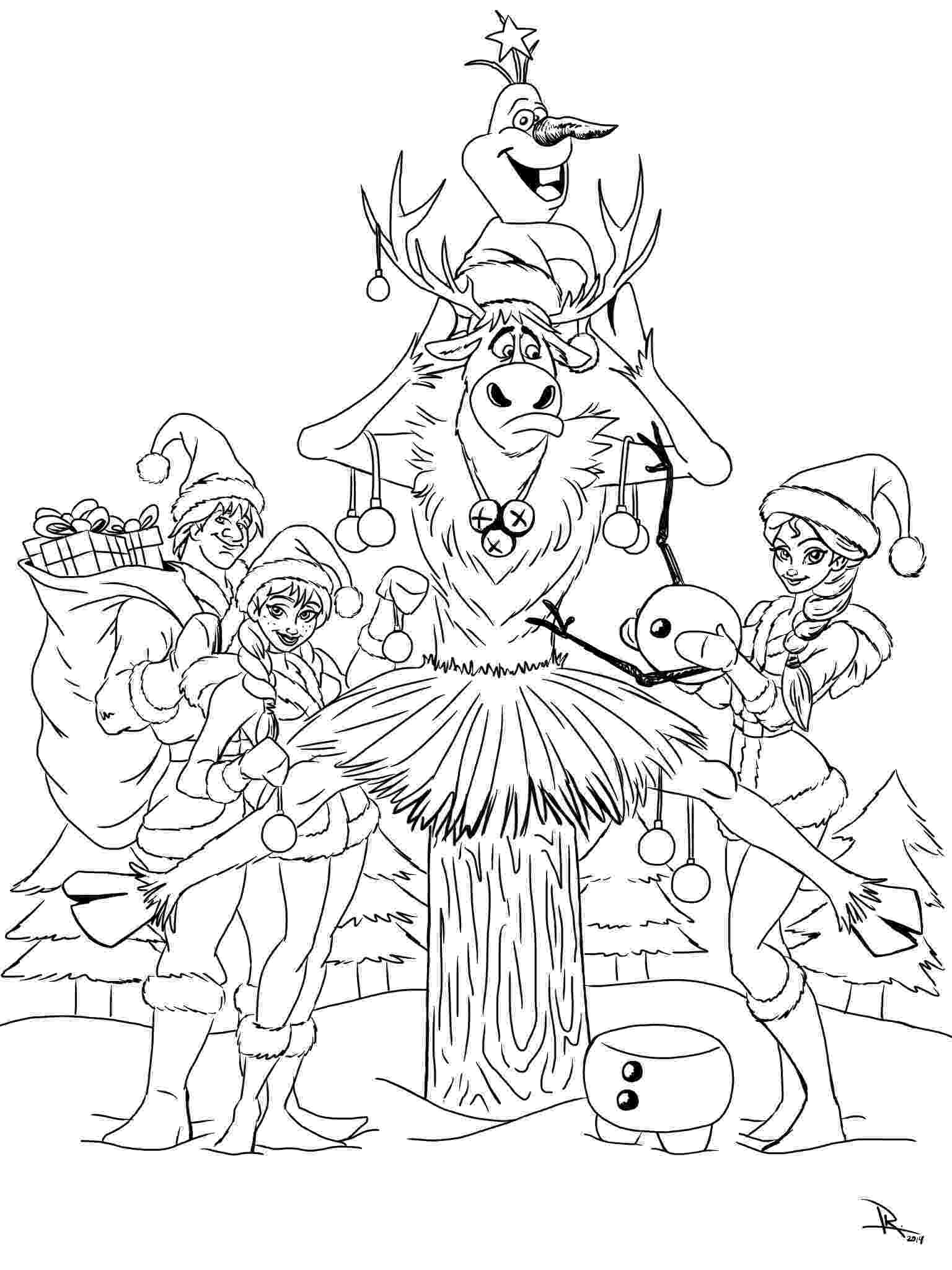 present coloring pages frozen christmas coloring page kristen hewitt pages coloring present