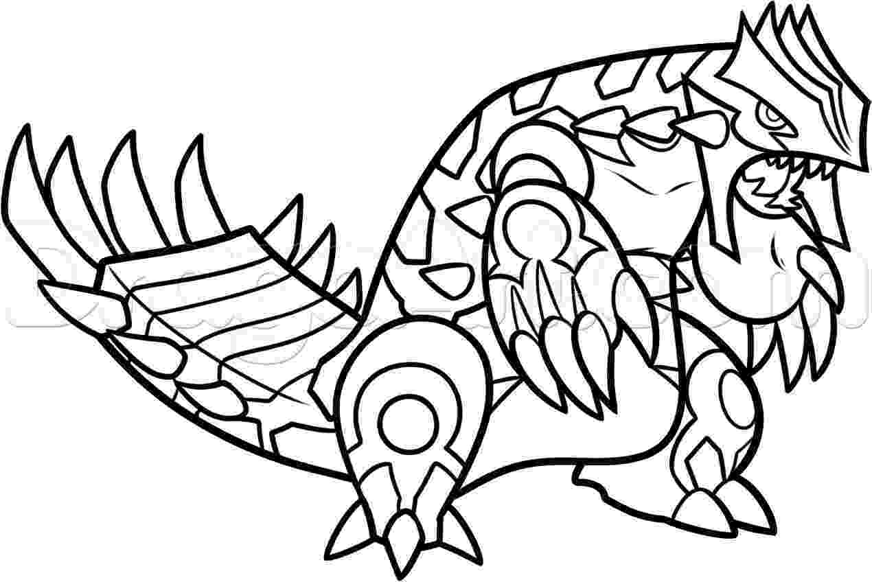 primal groudon coloring page incredible groudon pokemon coloring pages easy primal primal coloring page groudon