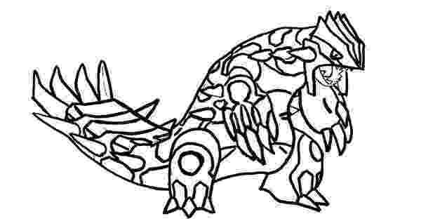 primal groudon coloring page primal groudon drawing at getdrawings free download groudon primal coloring page