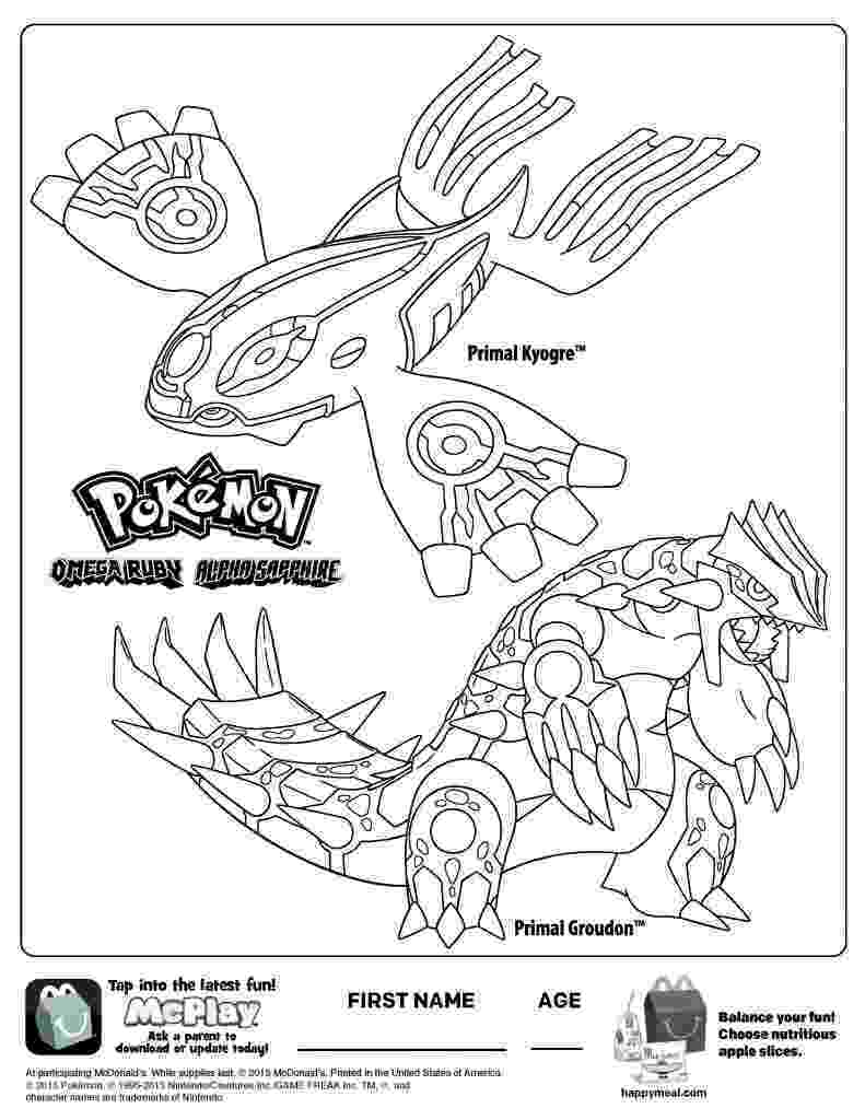 primal groudon coloring page primal groudon drawing at getdrawings free download primal page coloring groudon