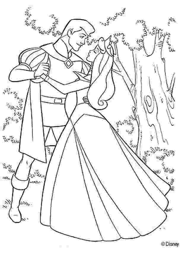 prince colouring aurora dancing with prince philip coloring pages prince colouring