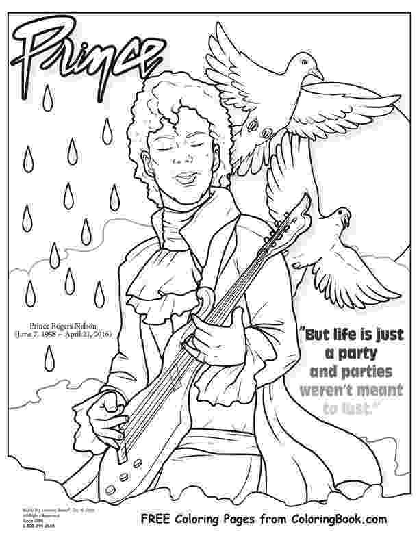 prince colouring free online coloring pages thecolor prince colouring
