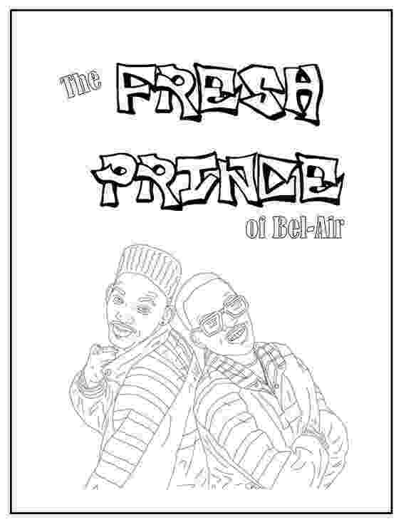 prince colouring fresh prince of bel air coloring book instant printable colouring prince
