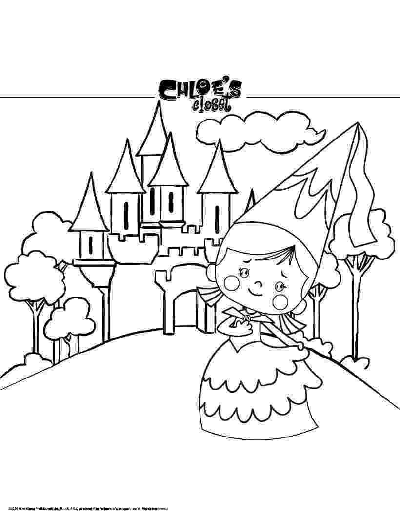 princess and castle coloring pages princesses coloring online princess pages and castle coloring