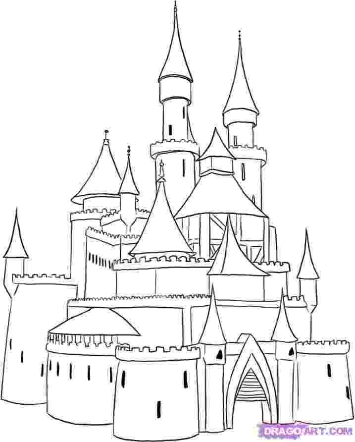 princess castle coloring pages cartoon design disney princess castle coloring pages to kids coloring castle princess pages