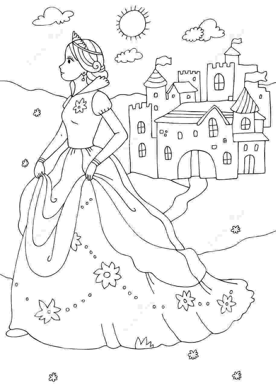 princess castle coloring pages dibujos para colorear disney princess coloring pages castle pages coloring princess