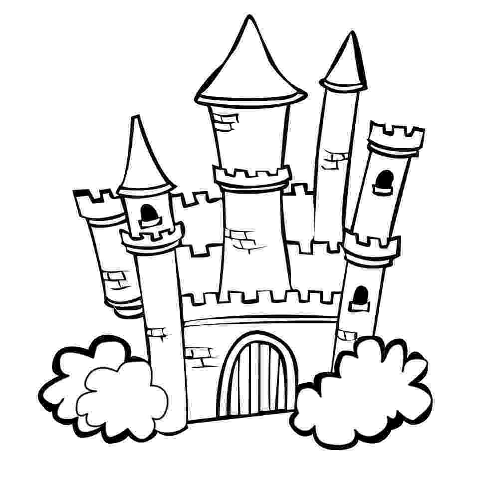 princess castle coloring pages disneyland castle drawing at getdrawings free download princess coloring pages castle
