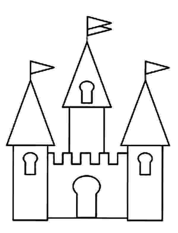 princess castle printable cartoon design disney princess castle coloring pages to kids princess castle printable