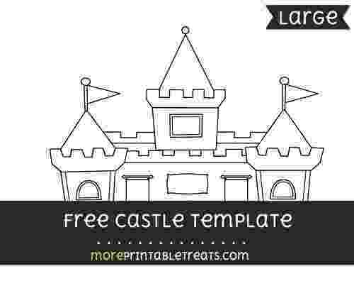princess castle printable free castle template large templates printable free castle princess printable