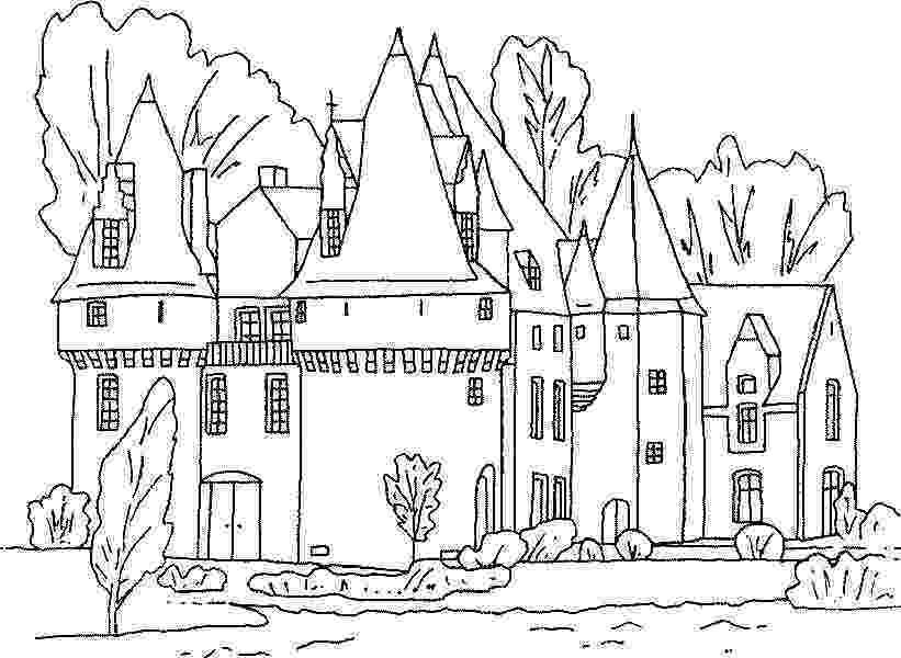 princess castle printable free printable castle coloring pages for kids castle princess printable
