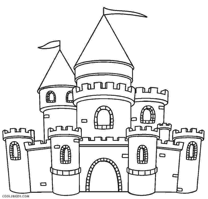 princess castle printable printable castle coloring pages for kids cool2bkids princess printable castle 1 1