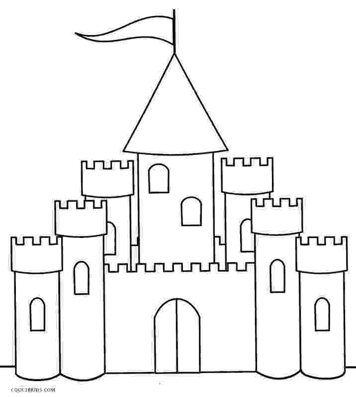 princess castle printable printable castle coloring pages for kids cool2bkids princess printable castle 1 2