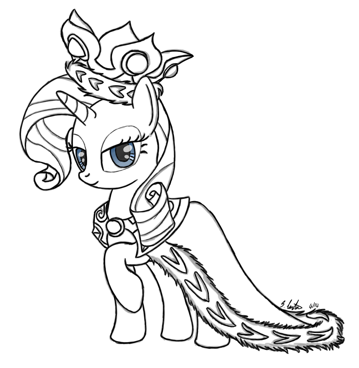 princess rarity princess rarity coloring page coloring girls my little princess rarity