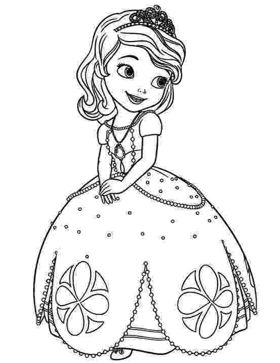 princess sofia colouring princess sofia coloring page free sofia the first sofia princess colouring