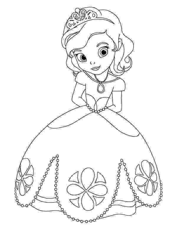 princess sofia colouring princess sofiadisney princess coloring pages disney princess colouring sofia