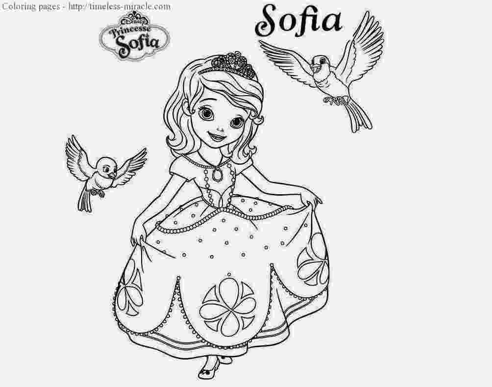 princess sofia colouring sofia the first coloring pages for girls to print for free sofia colouring princess