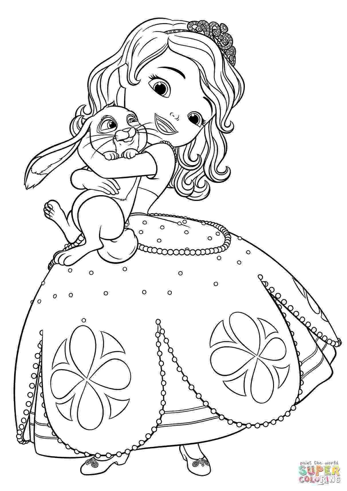 princess sofia colouring sofia the first coloring pages princess colouring sofia