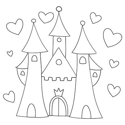 princess templates to color princess clip art black and white google search easy to color templates princess