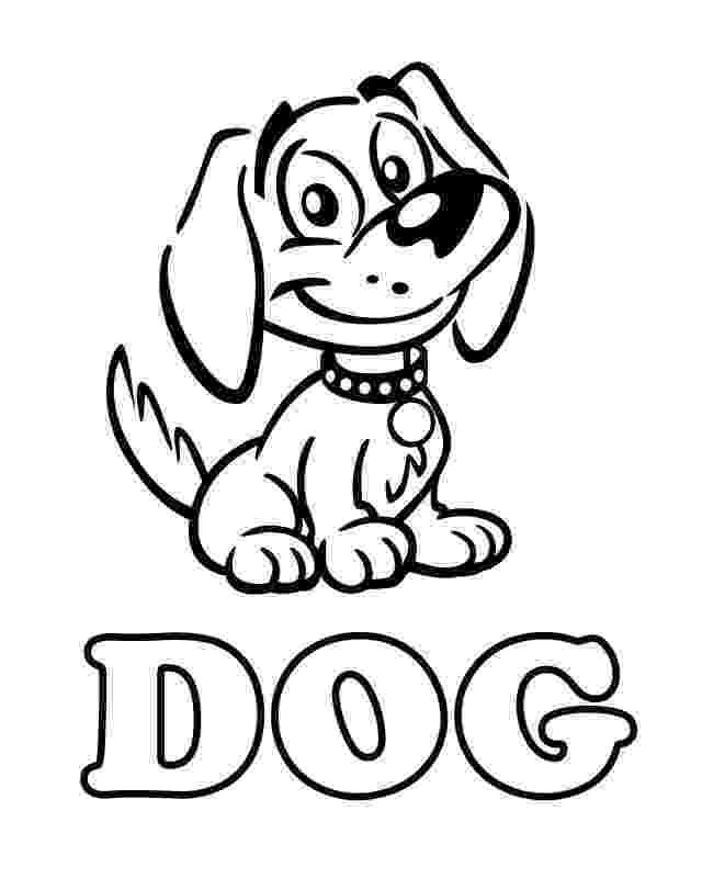 print a dog dog free printable coloring pages dog a print