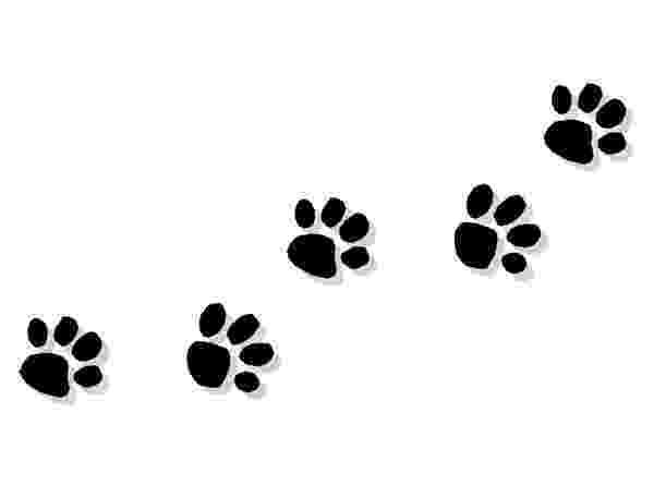 print a dog dog paw clip art black paw print silhouette dog art a print dog