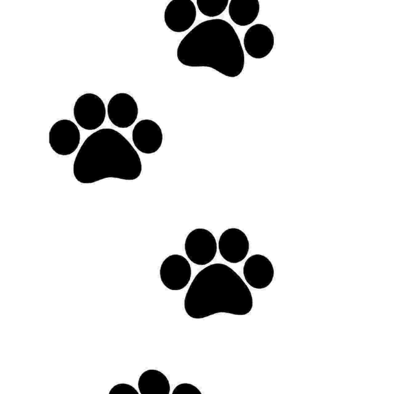 print a dog dog paw print 2 vinyl sticker print dog a