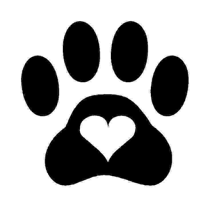 print a dog paw print 1 henna caravan print dog a
