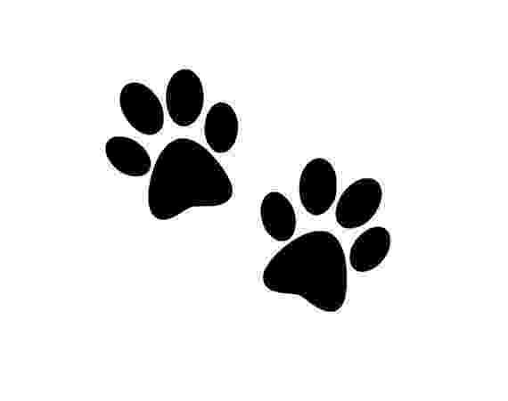 print a dog paw print decal dog paw prints dog cat decal pet car decal print dog a